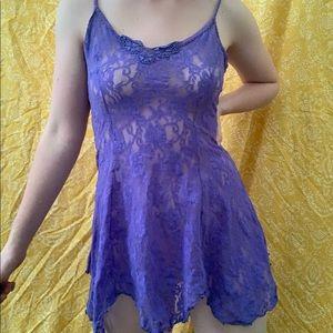 VTG Purple Lace Lingerie